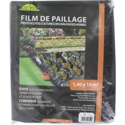 Film de paillage - Protection mauvaises herbes - 10 M - CAP VERT