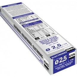 Électrodes de soudage - Rutile Acier -Ø 2.5 mm - Boîte de 110 - GYS
