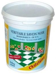 Savon noir mou - Pâte - 1 Kg - CHATELAINE