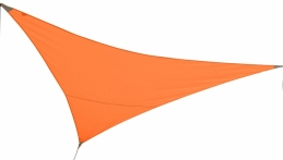 Voile d'ombrage triangulaire - First - 3 M - Orange - JARDILINE