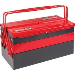 Boîte à outils - 5 comportiments - 470 x 220 x 215 mm - métal - FACOM