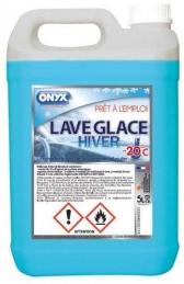 Lave glace dégivrant -20°C - Hiver - 5 L - ONYX