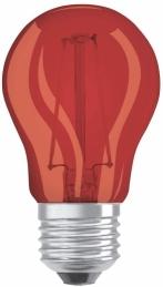 Ampoule LED à filament - Sphérique - E27 - 1.6 W - Rouge - OSRAM