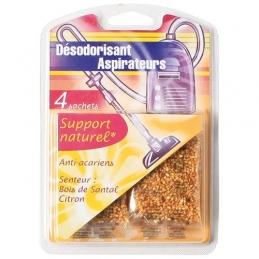 Désodorisant pour aspirateur - Anti-acariens - Lot de 3 - NATURELLA