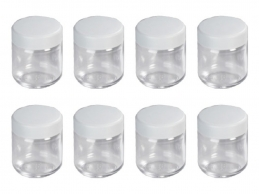 8 pots yaourtière avec couvercle blanc - 3517 - SEVERIN