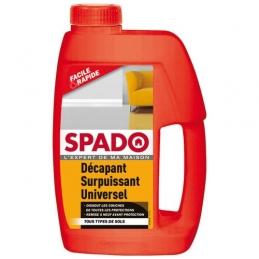 Décapant surpuissant Universel - Dissout les couches de toutes les protections - 1 L - SPADO