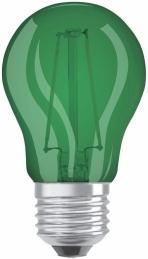 Ampoule LED à filament - Sphérique - E27 - 1.6 W - Vert - OSRAM