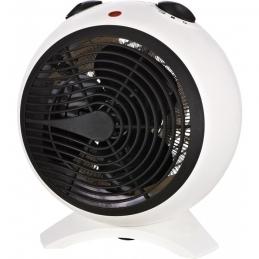 Radiateur soufflant 2000 Watts - Sphère - Blanc et Noir - VARMA