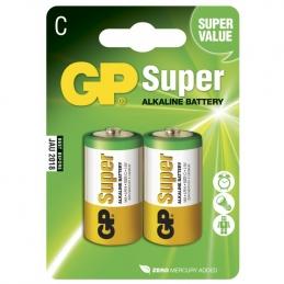 2 Piles alcaline - Super - C-pile, 14A/LR14 - GP