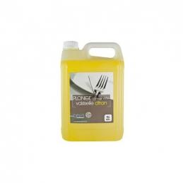 Liquide vaiselle - Plonge concentrée - Parfum citron - 5 L - BRIOXOL