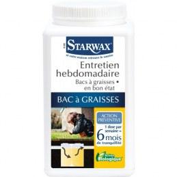 Entretien Hebdomadaire Bac à Graisses - STARWAX