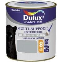 Peinture multi-supports extérieure - Satin - 0.5 L - Gris franc - DULUX VALENTINE