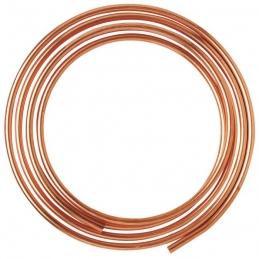 Tube d'alimentation recuit en cuivre - 5 M - 8 x 10 mm