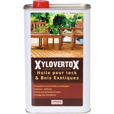 Huile pour teck et bois exotiques - Xylovertox - 1 L - SPADO