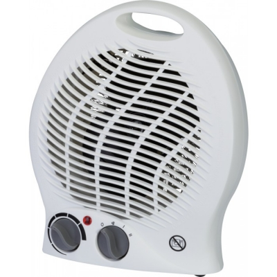 Radiateur soufflant 2000 Watts avec ventilation froide - Blanc - VARMA