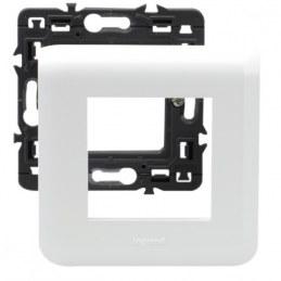 Support de plaque à griffes Mosaïc - 2 modules - LEGRAND