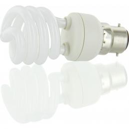 Ampoule Fluocompacte - Spirale - B22 - 15 W - 799 lumens - DHOME
