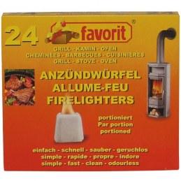 Allume feu barbecue et cheminée - Lot de 24 - FAVORIT