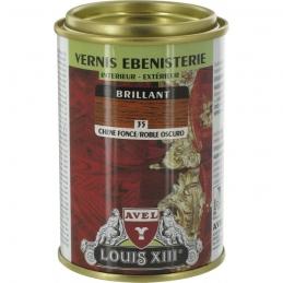 Vernis ébénisterie - Brillant - Chêne foncé - 250 ml - AVEL