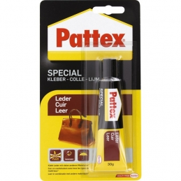 Colle spécial Cuir - 30 Grs - PATTEX