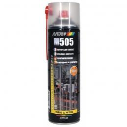 Nettoyant Contact - Qualité supérieure - W505 - Aérosol de 500 ml - MOTIP