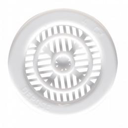 Grille de ventilation à encastrer pour contre cloison - Plastique - Ronde - 10 mm - DMO