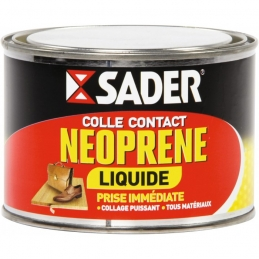 Colle contact liquide - Néoprène - 250 ml - SADER