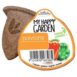 Capsule prête à planter - Poivron - MY HAPPY GARDEN
