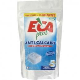 Pastilles anti-calcaire pour lave-linge - 20 pastilles - ECA PROS