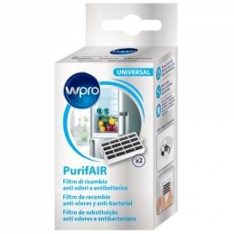 2 Filtres anti-odeurs et anti-bactériens de remplacement - Réfrigirateur et congélateur - WPRO