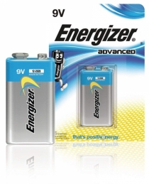 Pile Advanced -9 Volts - 6LR61 - ENERGIZER