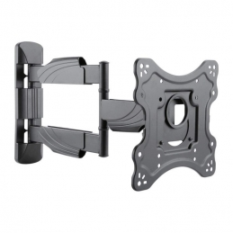 "Support TV mural inclinable orientable pour TV de 23"" à 42"" 3 articulations - MBG France"