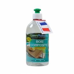 Nettoyant et détachant pour bois composite - 500 ml - GREEN PLAISANCE
