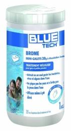 Brome en mini-galets de 20 Grs pour spa et petite piscine - 1 Kg - BLUE TECH