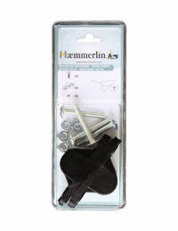 Coussinets pour fixation de roue de brouette cornière - HAEMMERLIN