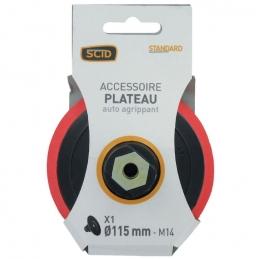 Support auto-agrippant - Accessoire plateau - 115 mm - SCID