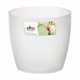Pot rond spécial orchidée - Brussels - 11 x 12.5 cm - Transparent - ELHO