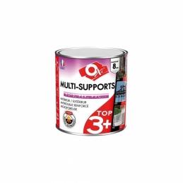 Peinture multi supports TOP 3 Plus - Brun - 500 ml - OXI