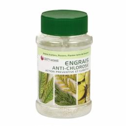 Engrais anti-chlorose - arbres fruitiers, rosiers, plantes terre de bruyère - 420 Grs - FERTICAMENT