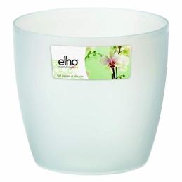 Pot rond spécial orchidée - Brussels - 16 x 15 cm - Transparent - ELHO