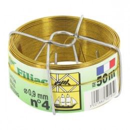 Bobinots fil attache - Laiton - 50 M - FILIAC