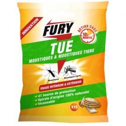 Tue moustiques et moustiques Tigre Fury - Vendu par 10 - FURY