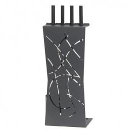 Serviteur de cheminée - Sillage Ardoise - Noir - LE MARQUIER