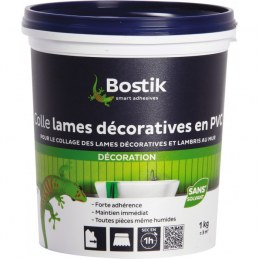 Colle lame décorative PVC 1 Kg - BOSTIK