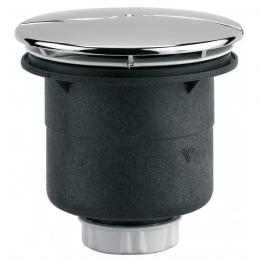 Bonde de douche - Sortie verticale avec capot - 90 mm - NEPTUNE
