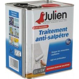 Traitement anti-salpêtre incolore - 2.5 L - JULIEN