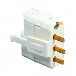 Fiche DCL 2P + T - 6A - 250 V pour luminaire - LEGRAND