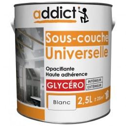 Sous-couche universelle - Opacifiante - Glycéro - Blanc - 2.5 L - ADDICT