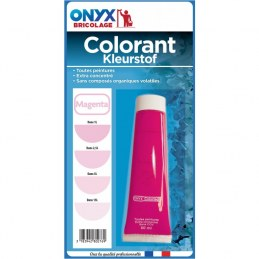 "Colorant universel ""Colortech"" - Magenta - 60 ml - ONYX"