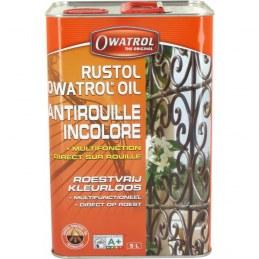 Antirouille multifonction / additif - Owatrol Rustol - 5 L